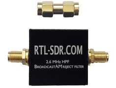 RTL-SDR.com Broadcast AM Block High Pass Filter Now for Sale
