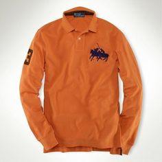 Welcome to our Ralph Lauren Outlet online store. Ralph Lauren Mens Long Sleeve on Sale. Find the best price on Ralph Lauren Polo. Ralph Lauren Custom Fit, Polo Ralph Lauren, Ralph Luaren, Ralph Lauren Long Sleeve, Long Sleeve Polo, Mens Fashion, Fitness, Mens Tops, How To Wear