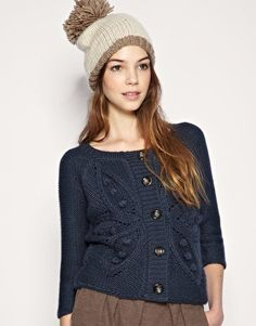 also cute, and looks warm! $32.27 @asos