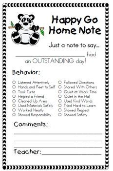 Behavior Management Supplement Packet for Clip Chart