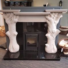 King Fireplace & Stoves is an award winning provider and installer of quality, bespoke fireplaces and stoves. Stove Fireplace, Stoves, Fireplaces, Restoration, King, Antiques, Home Decor, Fireplace Set, Antiquities