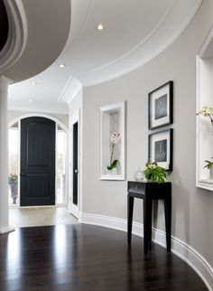 Love the wall colour and desperately need skirting boards. White is very nice but door frames are cream... Paint frames or cream boards????