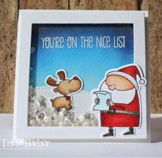 Diary of an Inky Girl…: Jingle all the Way - Shaker Card