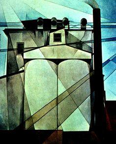 Charles Demuth - My Egypt, 1927