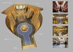 ZOOTOPIA POST #10: DESIGNING THE MUSEUM OF NATURAL HISTORY - PART 1  The fun challenge in designing the environment is incorporating a good balance of literal and subliminal animal-like patterns and designs in the anthropomorphic architecture. The exterior must have those sensibilities but should not look like Monsters, Inc. These are concepts are based from earlier version of the story. Time of day: daytime/normal hours of operation. Can you spot the hidden Mickey? :) More on the next post…