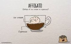 Image result for affogato illustration