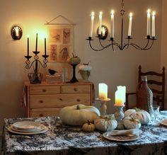 country fall decor | Country Halloween decor