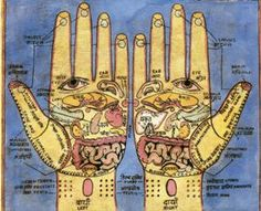 Palmistry & Reflexology Chart