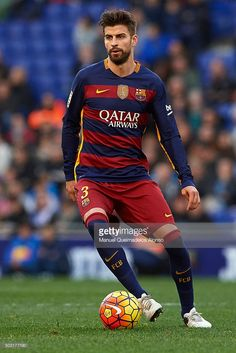 Gerard Pique Fc Barcelona, Barcelona Players, Barcelona Futbol Club, Barcelona Soccer, Messi And Neymar, Lionel Messi, Best Football Team, Football Soccer, Good Soccer Players