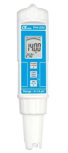 Unser neues Modell PH-222 PH-Messgerät ist ausgestattet mit einer sehr sensitiven, schnellen und genauen PH-Elektrode und einen Temperatursensor.