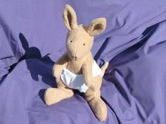 Kangaroo Soft Toy Pattern