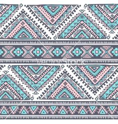 Tribal vintage ethnic seamless vector by transia on VectorStock®
