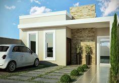 Decor Salteado - Blog de Decoração   Design   Arquitetura   Paisagismo: Fachadas de Casas Modernas – Casas sem telhado