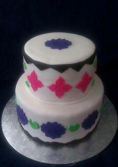 2 Tier Deco Cake