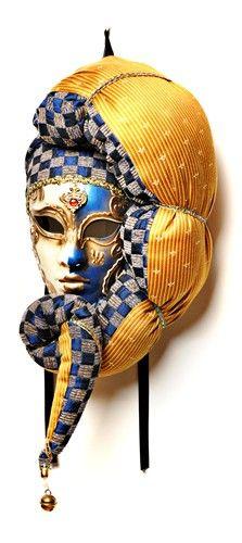Volvo Velvet Venetian Mask