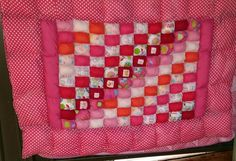 My 1st quilt. . . .  Biscuit quilt for Marlee