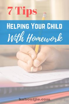 7 Tips For Helping Your Child With Homework Knowing how to help your child with homework is going to play a huge role in how successful your child will be at school. It is important to know how much help to give and not to do too much for your child. Good Study Habits, Healthy Lifestyle Habits, Kids Homework, Academic Success, Life Skills, Parenting Hacks, Kids Learning, Your Child, Activities For Kids