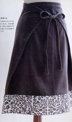 Une jupe facile à porter.