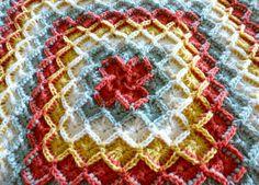 Shells and Box Stitch Blanket 2 x Free Pattern Baby Blanket Crochet, Crochet Baby, Free Crochet, Crochet Blankets, Baby Blankets, Bavarian Crochet, Irish Crochet, Crochet Trim, Knit Crochet