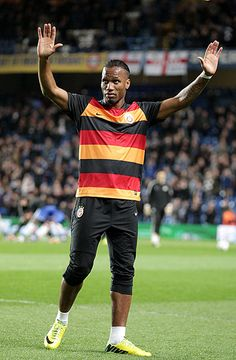 Didier Drogba back at Stamford Bridge
