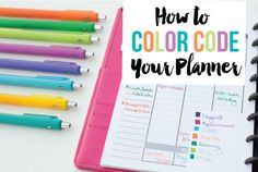 Let's talk about how to color code your planner! I love pretty colors and I love planners, so what could be better than a color coded planner? When it comes to color coding your planner, there's definitely not a right or wrong way.