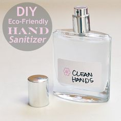 Make your own eco-friendly hand sanitizer.