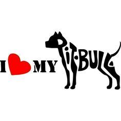 I ♥ my pitbull                                                                                                                                                                                 Mais