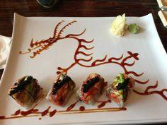 Sushi Art, beware of the dragon.   www.foodpanda.com