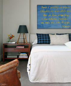 Apartamento do descasado tem decoração bem masculina - Casa