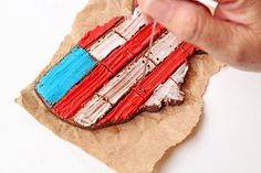 How to Make Simple American Flag Cookies with a Video   The Bearfoot Baker