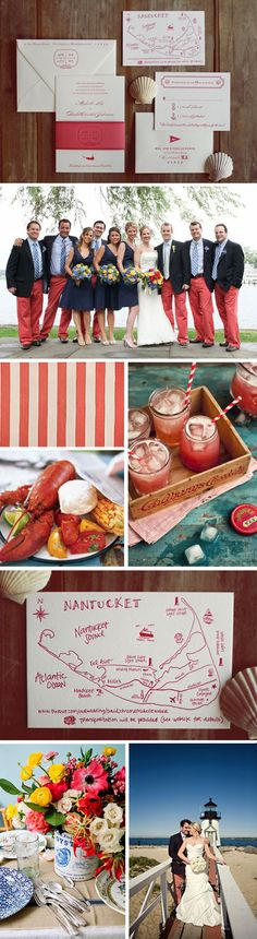 love all this- the letter pressed invite with map is my fav. love the stripes and drinks
