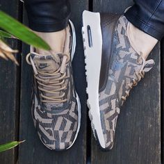 Add a touch of luxe to your off-duty style with the Nike Air Max Theas now at stylerunner.com  #stylerunner #stylesquad
