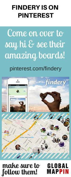 "Give a warm welcome to our sponsor Findery and follow their Pinterest. We love their boards called ""Into the Wild"" and ""Adventurous Soul""!"