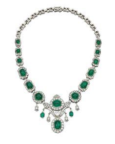 Shell Jewelry, Art Deco Jewelry, High Jewelry, Jewelry Necklaces, Pendant Jewelry, Jewlery, Emerald Jewelry, Diamond Jewelry, Diamond Necklaces