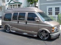 Chevy Express On 24s 2004 1500 Conversion Van Pics