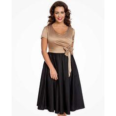 26c514674663 Společenské šaty Lindy s mašlí Bop Gina