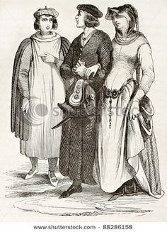 No one knew hips like French bourgeois in paris, 11th century