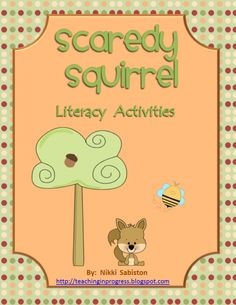 Scaredy Squirrel Literacy Pack product from Teaching-in-Progress on TeachersNotebook.com