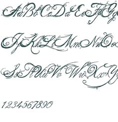 Or Feel In This Font Cursive LettersFancy