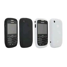 Buy Black & White OEM BlackBerry Skin Gel Case for 8520 8530 Curve2 9300 9330 Curve 3G, (2 Pack) Mobile Phone Accessories NEW for 12.4 USD | Reusell