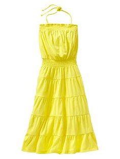 can buy now: Smocked tiered maxi dress