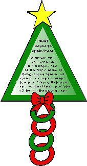 Christmas Tree Countdown to Christmas Craft - Kids love it!