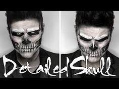 Image result for sugar skull makeup men
