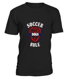 "# Soccer Dogs Rule The Field Funny T-Shirt .  Special Offer, not available in shops      Comes in a variety of styles and colours      Buy yours now before it is too late!      Secured payment via Visa / Mastercard / Amex / PayPal      How to place an order            Choose the model from the drop-down menu      Click on ""Buy it now""      Choose the size and the quantity      Add your delivery address and bank details      And that's it!      Tags: Does your herd dog - whether Jack Russell…"