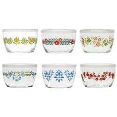 $30  Vintage Flower Bowls Set  (I got this for a friend's birthday...and I really really anted to keep them. I didn't.)