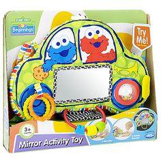 Sesame Beginnings Mirror Activity Toy