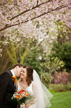 Romantic Spring Wedding Pictures by Marcin Moka Photography | Sash and Satin