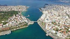 Evia, a Greek Island to Explore Places In Greece, Ferry Boat, Dji Phantom 3, Greek Islands, Greece Travel, World Traveler, Travel Inspiration, City Photo, Beautiful Places