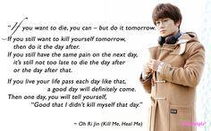 Kill Me, Heal Me quotes: Ji Sung as Cha Do-Hyun, Hwang Jung Eum as Oh Ri-Jin (ep15)
