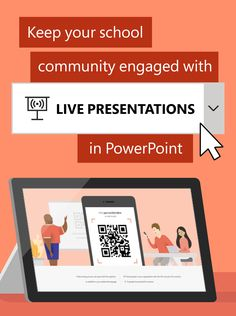 All-school assemblies might look different this year, but Live Presentations in PowerPoint has lots of ways to help you connect and engage with audiences in any environment. Check out live feedback and captioning features perfect for hybrid learning. All Schools, Back To School, Presentation, Live, Back To College